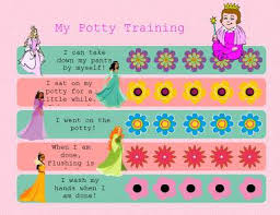 Princess Potty Chart Potty Training Charts For Boys And Girls 39 Printable