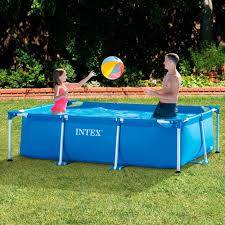 Best Swimming Pool in Doha Qatar Intex 28270 Rectangular Frame