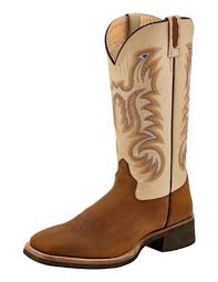 Light Brown Square Boots Amazon Com Old West Boots Mens Trail Dust Light Brown 9 D