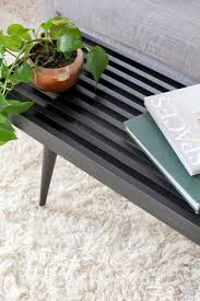 Tapered Coffee Table Legs Diy Slatwood Bench A Beautiful Mess