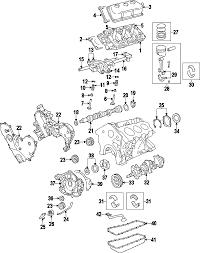 parts com® chrysler pump engine oil partnumber 68194155aa 2007 chrysler pacifica base v6 4 0 liter gas engine parts