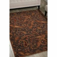 nourison hand tufted firenze black rug 8 x 11