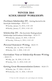 Scholarship Undergraduate Resumes Resume Templates Template Free