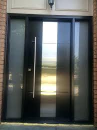 steel front doors with glass metal entry door with glass exterior modern contemporary front entry door
