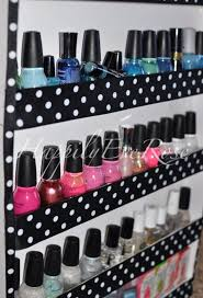 diy foamboard nail polish rack diy nail polish rack ideas see more at