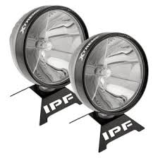 arb™ off road lights driving lights wiring harnesses arb® ipf 900xs xtreme series 7 9 25w round chrome housing led lights
