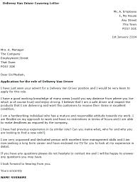 Driver Cover Letters Delivery Driver Cover Letter Example Learnist Org