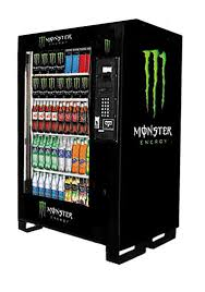 Hardware Vending Machine Fascinating DIXIE NARCO 48 BEV MAX SODA POP ' MONSTER GRAPHICS' DRINK VENDING
