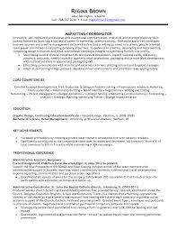 Transform Resume For Marketing Coordinator With Sales Coordinator