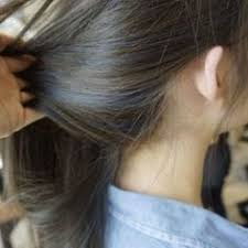 Subtle Blue Highlights Dark Brown Hair With Blue Highlights Hair Ideas Hair Blue Hair
