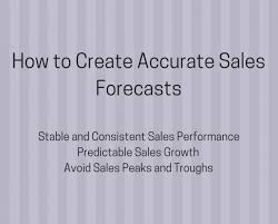 What Is A Sales Forecast An Accurate Sales Forecast Is Key To Predictable Sales Success Growth