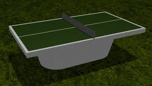 concrete ping pong table. TABLE TENNIS WITH OVAL BASE Concept Design - With Oval Base Concrete Ping Pong Table