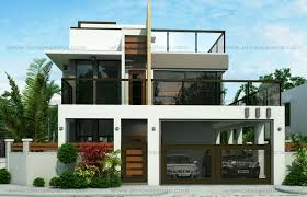 50 IMAGES OF 15 TWO STOREY MODERN HOUSES WITH FLOOR PLANS AND Two Storey Modern House Designs