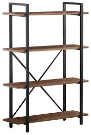 Industrial style furniture Reclaimed Wood Industrial Style Pflugerville Furniture Center Industrial Style Bookcase With Shelves Pflugerville Furniture Center