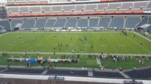 seat view for lincoln financial field section c2