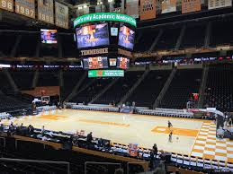 Pbr Thompson Boling Arena Seating Chart Thompson Boling Arena Section 103 Rateyourseats Com