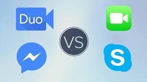 Google Duo Vs Facetime Vs Skype Vs Messenger Tech Advisor