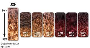 Ombre Weave Color Chart Sunflower Sensationnel Totally Instant Weave