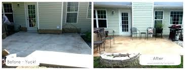 concrete slab patio makeover. Modren Patio Concrete Slab Patio Makeover What To  For Concrete Slab Patio Makeover