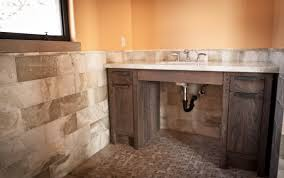 Weathered Wood Vanity Creative Distressed Wood Bathroom Vanities - Oak bathroom vanity cabinets