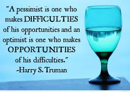 pessimist vs optimist quote hd image