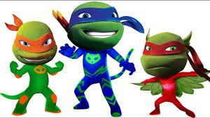 Small Picture PJ Masks Teenage Mutant Ninja Turtles Coloring Pages for Kids