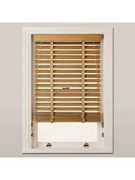 wood venetian blinds. Simple Blinds BuyJohn Lewis U0026 Partners Wood Venetian Blind 50mm FSCcertified Oak  Intended Blinds