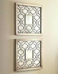 mirror wall art decor mirror wall art silver square fretwork wood mirror wall art pair home on mirror wall art uk with mirror wall art decor mirror wall art silver square fretwork wood