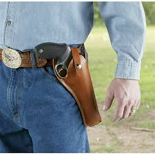 double tap to zoom hunter crossdraw leather holster fits medium to large frame double action revolvers