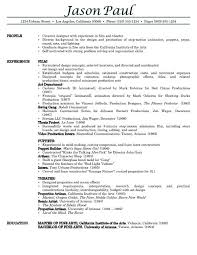 professional resumes examples