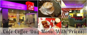 Cafe Coffee Day Menu With Price India Travel Forum