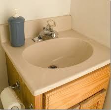 how to paint a sink painting bathroom vanity countertop