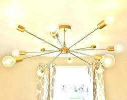 sputnik style chandelier a massive cm diameter light