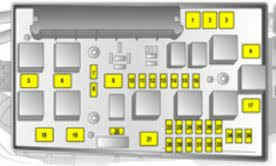 vauxhall astra 5th generation astra h 2004 2010 fuse box fuse layout version a