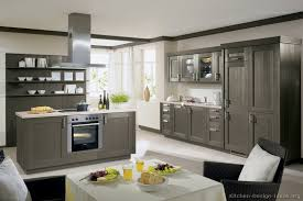 modern gray kitchen welcome
