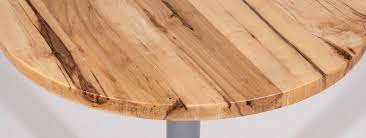 Some people like the plywood layer look some do not. Table Tops Fully Customized For Commercial Spaces