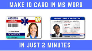 Make Your Own Identification Card Make An Id Card Magdalene Project Org