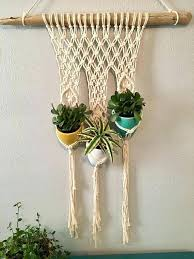 wall plant hangers macrame wall plant hanger plant wall hanging pots