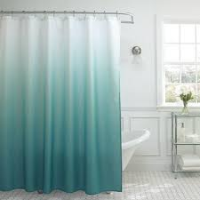 shower curtains. Creative Home Ideas Ombre Waffle Weave Shower Curtain With 12 Color  Coordinating Metal Rings - Turquoise Shower Curtains