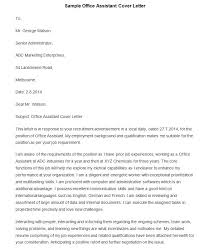 office assistant cover letter sample pictures to pin on pinterest in cover letter for office assistant cover letter for office administrator