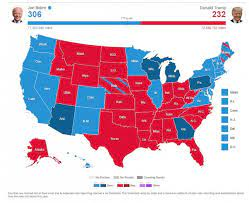 ABC News' crowdsourced electoral map was only off by 1 state - ABC News