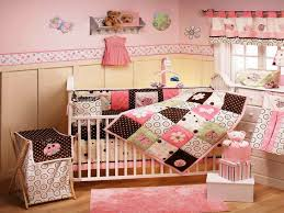 Nursery Bedroom Baby Nursery Delightful Pink Girl Nursery Room Decoration And