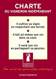 la charte métier des vignerons indépendants