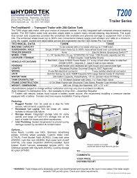 Trailer Light Requirements T200 Trailer Series Manualzz Com