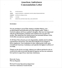 commendation letter sample resume template sample letters for laworcement with