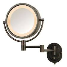 wall mounted makeup mirror. 5X Wall Mounted Makeup Mirror A