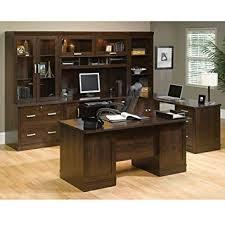 sauder office furniture. Sauder Office Furniture Port Collection Dark Alder Executive Suite To