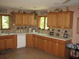 kitchen floor ideas with light oak cabinets mf cabinets