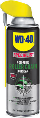 wd 40 specialist non fling roller chain