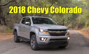 2018 Chevy Colorado: